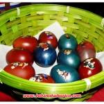 Uskršnja jaja u košari