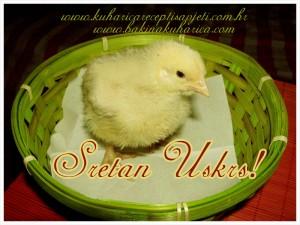 Bakina kuharica želi vam Sretan Uskrs