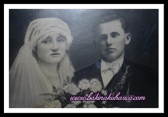 Bakina i djedova vjenčana slika